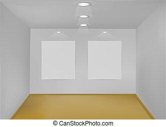 Empty Gallery Room