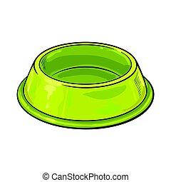 Refillable Cat Food Bowl