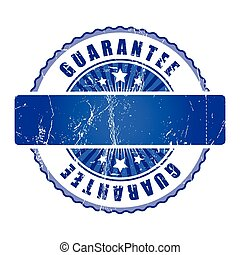 Empty  Guarantee Stamp.