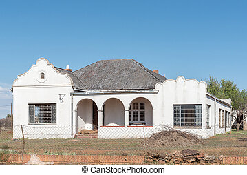 Empty house in Springfontein
