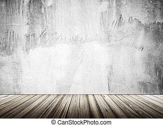 Empty interior background. 3d rendering