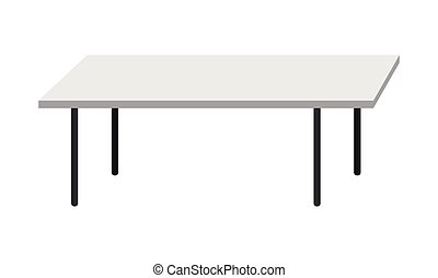 kitchen table clipart black and white. empty kitchen table isolated on white background clipart black and