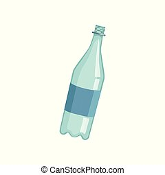 Empty lastic bottle, recycling garbage concept, utilize...