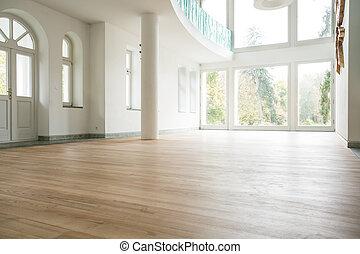 Empty living room - Photo of empty bright living room...