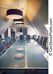 empty luxury office