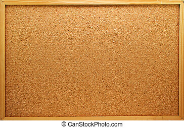 memo board - Empty memo board on white background