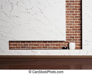 empty minimalist room