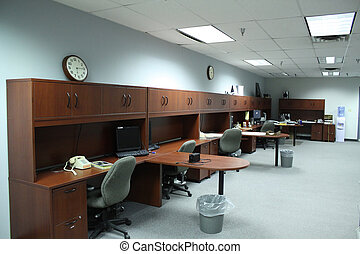Empty office - An impty instructor office.