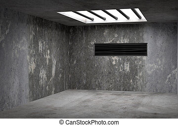 Empty old room