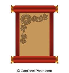 Empty parchment paper