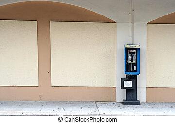 Empty Pay phone