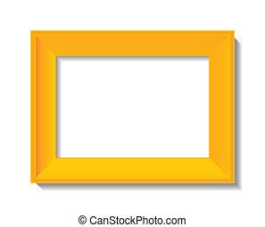 empty photo frame - vector