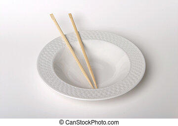 Empty Plate Chopsticks