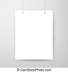 Empty Poster Template