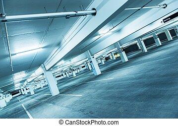 Empty Public Parking