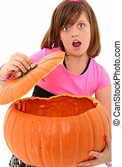 Empty Pumpkin Girl