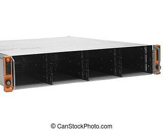 empty rack storage server