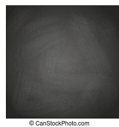 empty retro black chalkboard background vector eps10