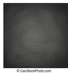 empty retro black chalkboard background vector eps10