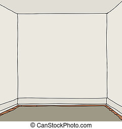 Empty Room Cartoon