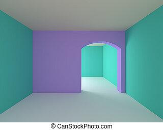 empty room for children