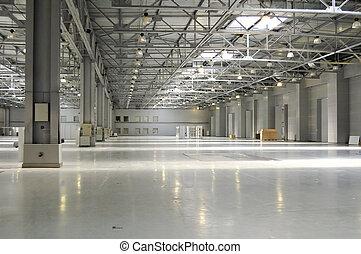empty room for exhibition