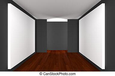 Empty Room Gallery