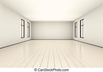 Empty room Illustration
