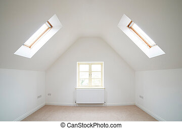 Empty Room In New House