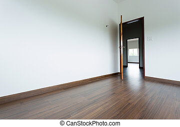 empty room interior
