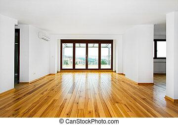 empty room, levend