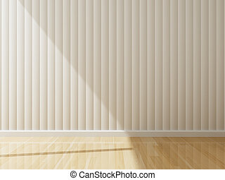 Empty room of interior decorated 3d rendering
