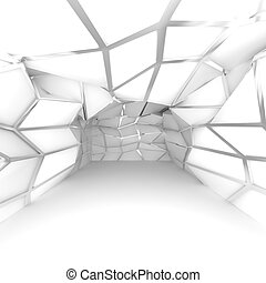 empty room white diagonal wall - Abstract white diagonal ...