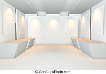 Empty Room With Gallaly