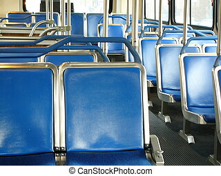seats in a bus - empty seats in a bus