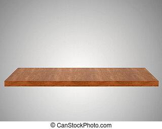 Empty  shelf  - Empty  shelf