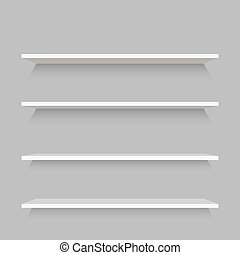 Empty Shelves Template