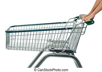 Empty shopping cart, add to cart.