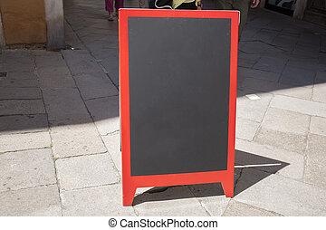 Empty Sign