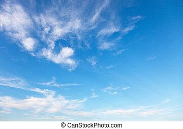Empty sky surface