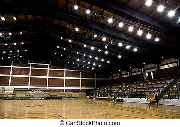 Empty sport hall