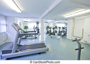 empty sport room