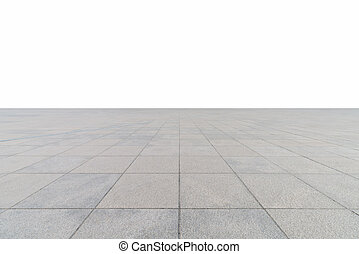 empty square floor