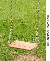 Empty swing - 2