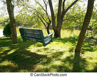 Empty Swing - Empty swing down by the Brazos River
