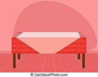 Empty table design