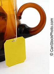empty tea tag