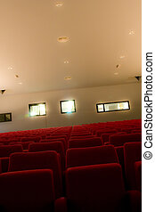 Empty Theater Seating
