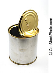 empty tin can