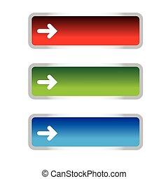 Empty vector button set